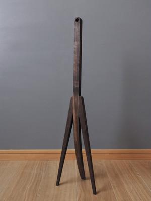 靴べらの尻尾|black walnut(無垢材・無着色)