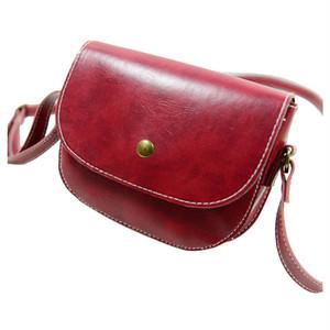 Retro Messenger Bag Chain Shoulder Bag Leather Crossbody Handbag レトロ ショルダーバッグ レザー クロスボディ チェーン ハンドバッグ メッセンジャーバッグ (COS99-2249303)