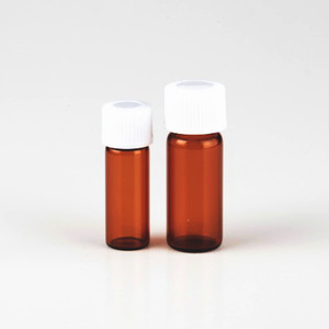スクリュー管ガラス容器2ml|褐色ガラス瓶