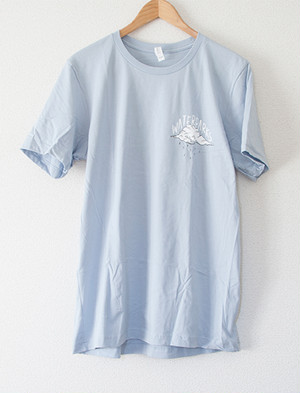 【WATERPARKS】The Boys Are Sad T-Shirts (Blue)