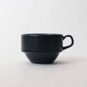 【SL-0038】磁器 コーヒーカップ ブルー・ブラック
