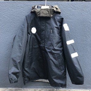 SPACE PATCH DOWN JACKET