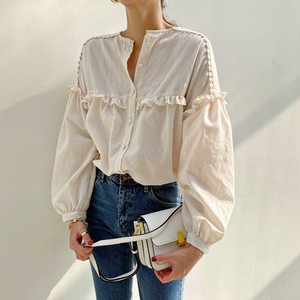 Sweet Comfortable Long Sleeved Shirt T656