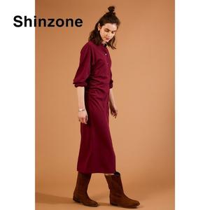 THE SHINZONE/シンゾーン ・インレイカーディガンドレス