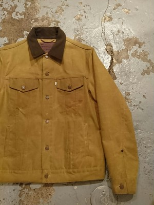 "Levi's × FILSON ""OIL FINISH TRUCKER JACKET"""