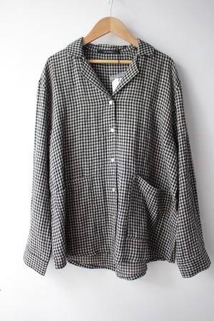 eka::「ギンガムチェック シャツジャケット」