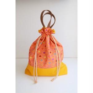 お着替え袋:お花