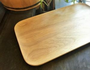 ウッドトレイ/Wood tray サワクルミ材