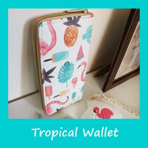 【再入荷!】ハワイアン トロピカル 財布