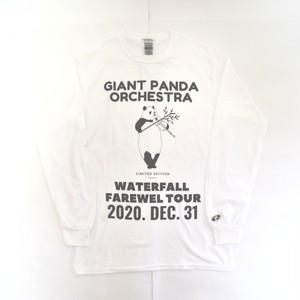 「シャンシャンバイオリン」パンダツアーTシャツ ホワイト S/M/L WATERFALLオリジナル限定商品