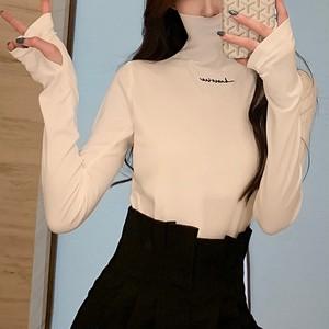 【トップス】スリム 着心地いい 海外トレンド 韓国風 合わせやすいTシャツ