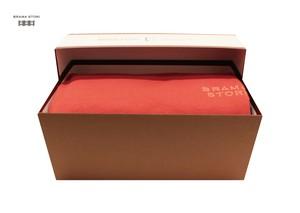 BRAMA STORI-RIN-クルーネックスウェットシャツ(レッド/メンズ)