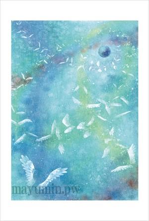 天使の軌道 ポストカード