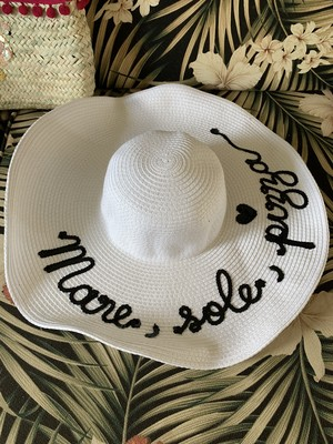 Mare Sole Pizza HAT Floppy White