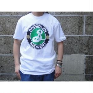 PALMER CASH (パルマーキャッシュ) BROOKLYN LOGO T-Shirts ホワイト