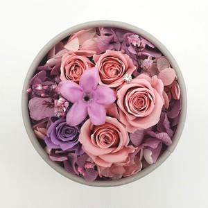 ドームボックスフラワー バラとジャスミンの大人可愛いピンク♡