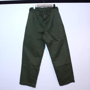 "DEAD STOCK ""French Army M-52 Chino Pants(フランス軍 M-52 チノパンツ後期型 デッドストック 後染め オリーブ)"""