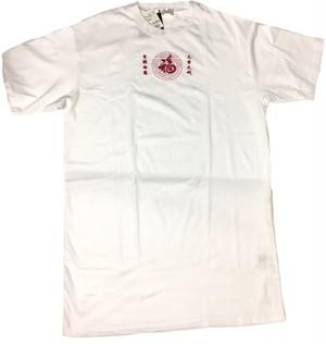 刺繍Tシャツワンピ