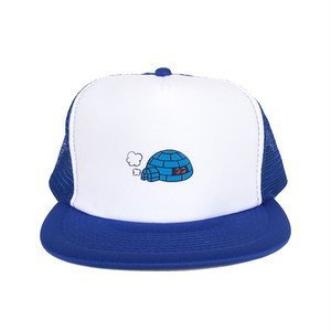 "KIOSCO x ADOOM "" igloo ""meshcap BLUE"