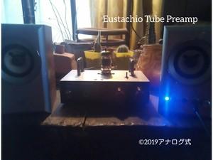 管球式プリアンプ/ヘッドフォンアンプ|Eustachio TUBE LA/HPA take1 ハンドル付