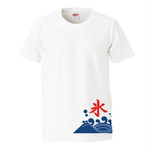 かき氷 プリントTシャツ