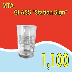 "MTA / GLASS ""Station Sign"""