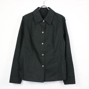 BURBERRY LONDON / バーバリーロンドン | ロゴスナップシャツジャケット | 13 | ブラック