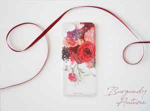 iPhone CASE / Burgundy Autumn