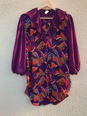 Diane freis purple tops