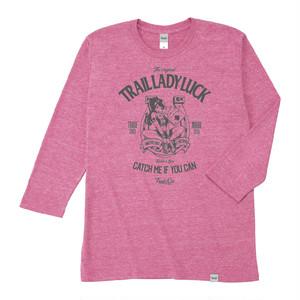 【販売終了】Tri Brend 3/4 Sleeve T-Shirt / TLL / Heather Pink