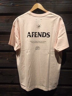 AFENDS  No Tomorrow  JM201014-1 A.Pink Mサイズ