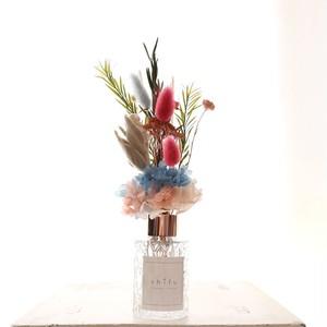 ジャスミンの香り×Blue flower【フラワーディフューザー】ギフト 贈り物 誕生日 インテリア 花 誕生日 母の日ギフト