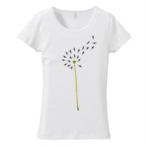 [レディースTシャツ] Dancing Spring