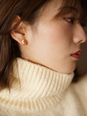 [ピアス] core pierce / Round offset