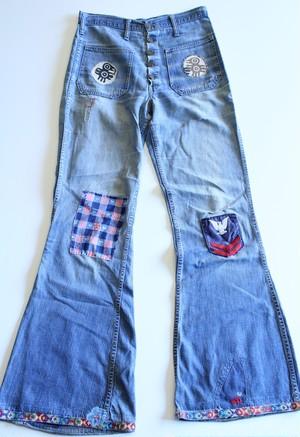 Vintage Bell bottom denim pants