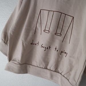 swing MTM ブランコ刺繍T 韓国買い付けアイテム 韓国子供服 子供服 男の子 女の子 TA0026