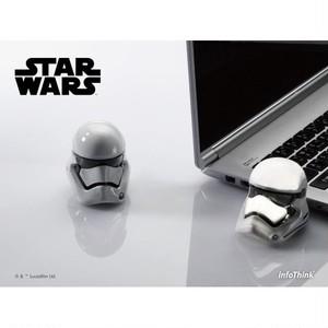 InfoThink USBメモリ Lucasfilm スター・ウォーズ/フォースの覚醒 USBフラッシュドライブ 16GB USB2.0 ストームトルーパー USB-100(SWST)16GB