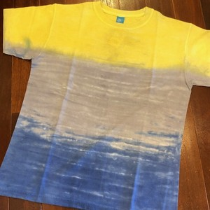 Good On / グッドオン |【SALE!!!】HORIZON DYE TEE - YELLOW SKY/イエロースカイ