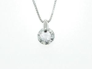 【PT900】1.096ct UP ダイヤモンドネックレス