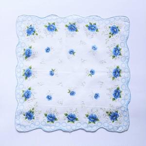 Vintage Printed Handkerchief 016・ヴィンテージ プリントハンカチ 016 U.S.A