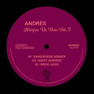 "【7""】Andres - Allegria De Vino Vol. 2"