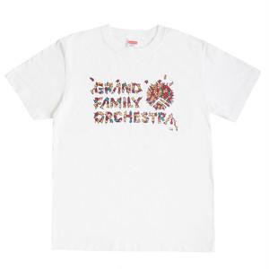 猫ロゴTシャツ(白)
