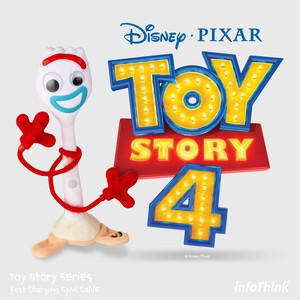 InfoThink USBケーブル Disney トイ・ストーリー4USB Type-C フォーキー