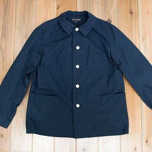 【SOLD OUT】COOCHUCAMP : Happy shirt jacket / navy
