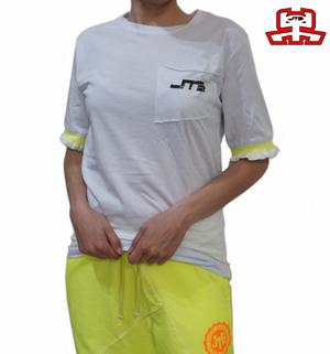 【JTB】 FRILL Tシャツ【蛍光イエロー】【新作】イタリアンウェア【送料無料】《W》