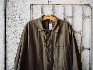 Czech Army's  Herringbone Cotton Coat