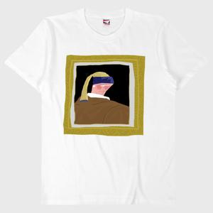 ゆる名画Tシャツ