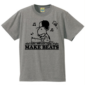 [MAKE BEATS] T-shirt / Gray