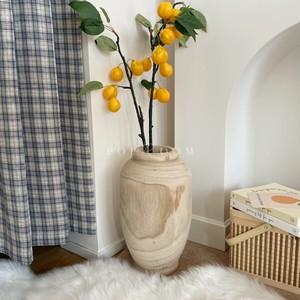 ウッドフラワーベース(花瓶) R1544