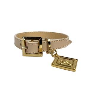 Leather Bracelet Pink